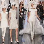 Chanel Couture Spring 09 white bride