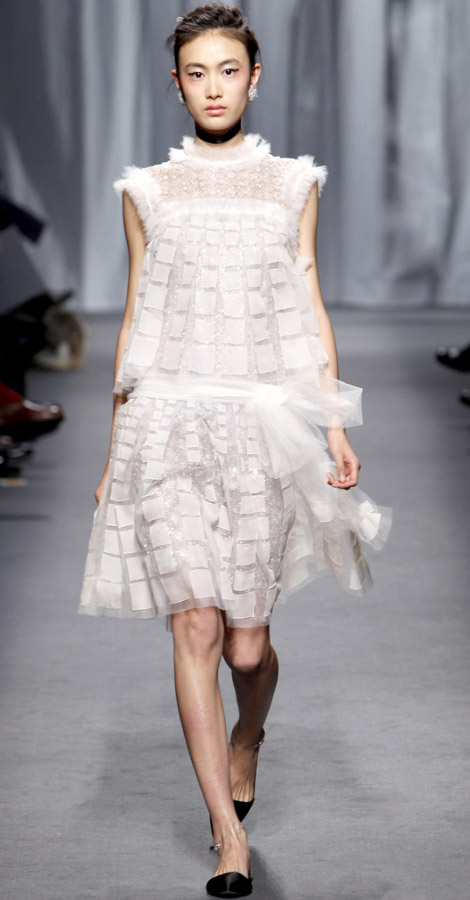 Chanel Couture Spring Summer 2011 Shu Pei Qin
