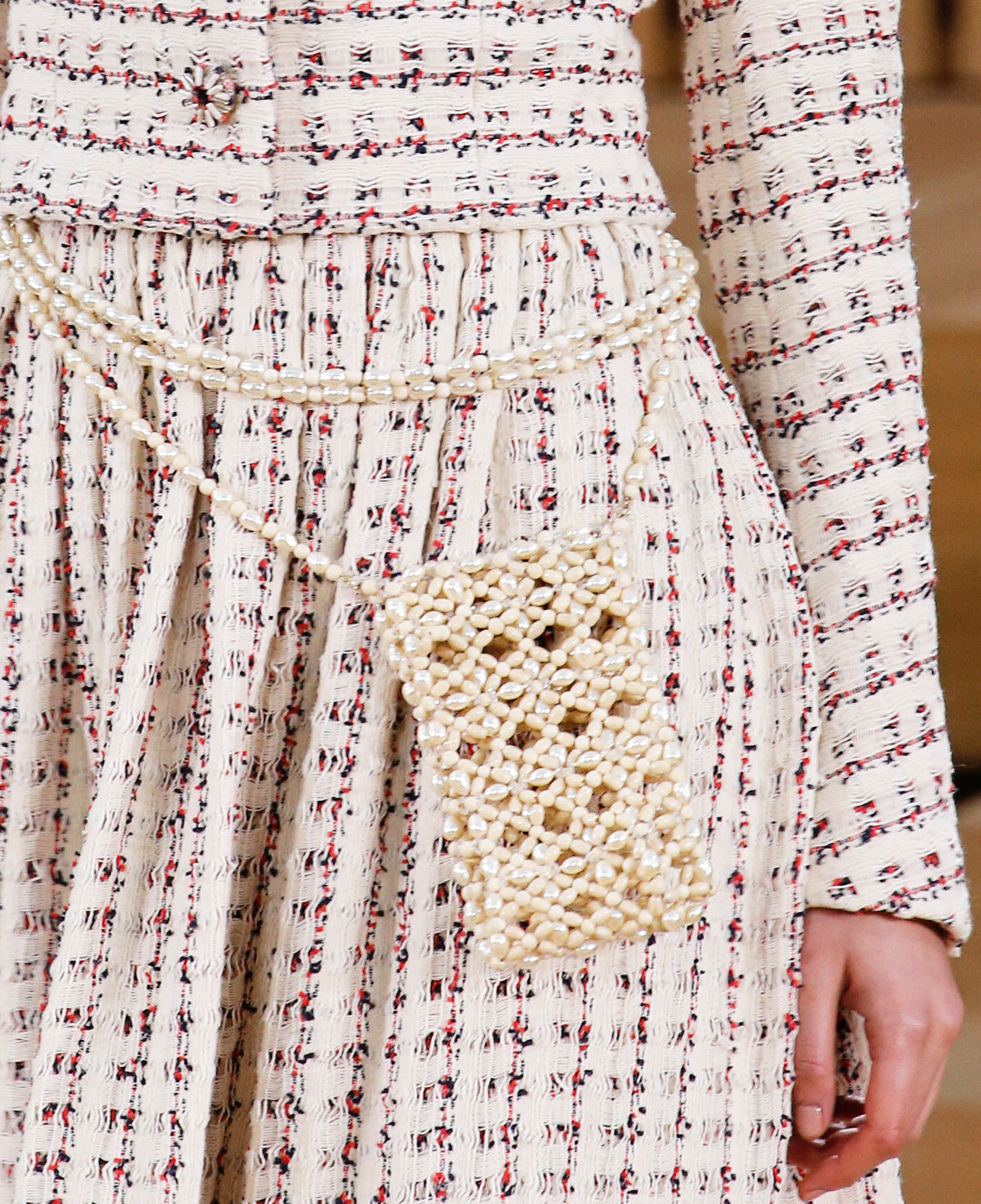 Chanel details Couture 2016