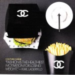 Chanel fast food large