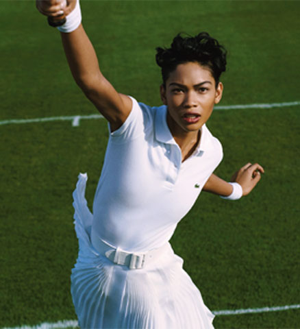 Chanel Iman Althea Gibson American Icons Glamour