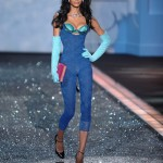 Chanel Iman Victoria s Secret 2009 fashion show 1