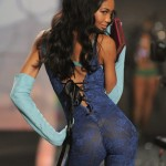 Chanel Iman Victoria s Secret 2009 fashion show 2