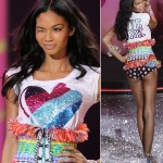 Chanel Iman Victorias Secret 2009 fashion show large