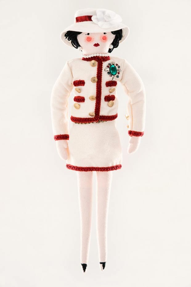 Chanel par Karl Lagerfeld doll for Unicef