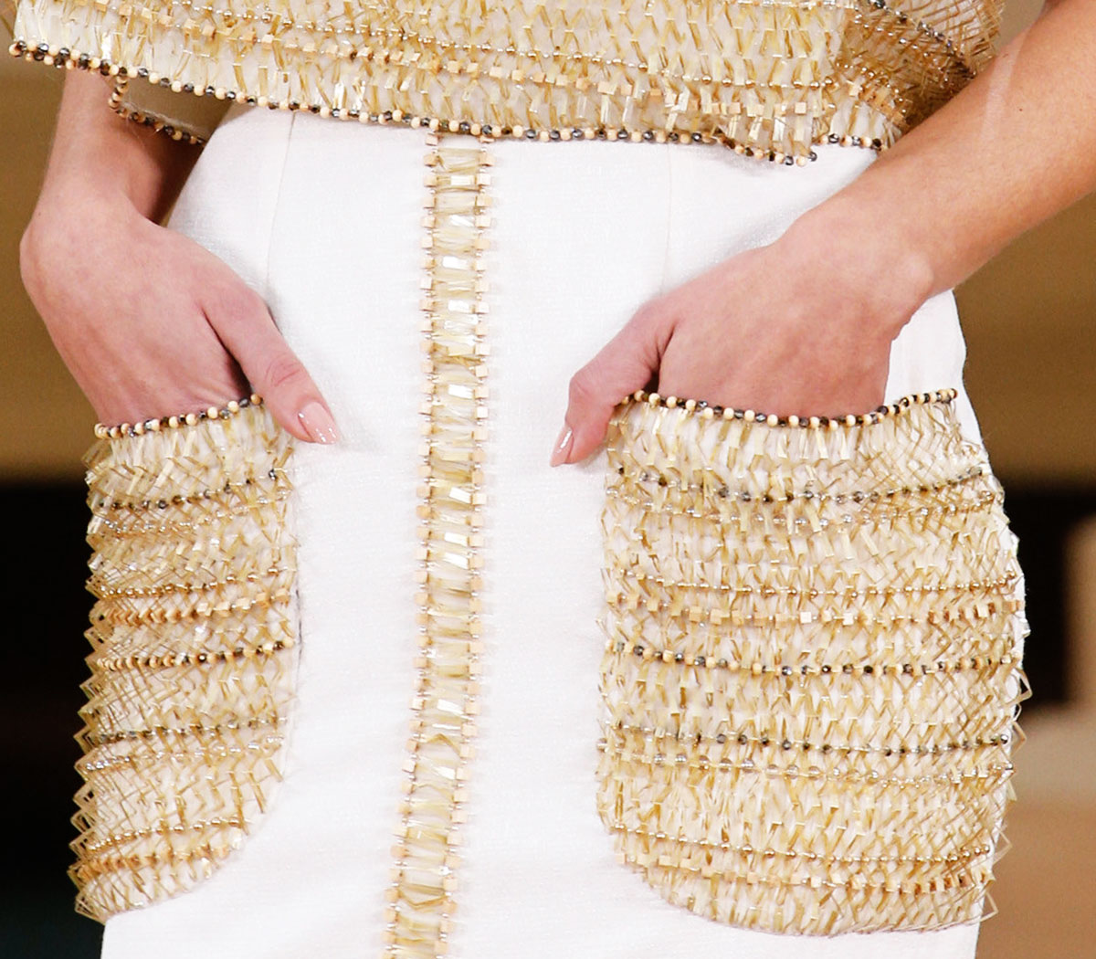 Chanel pockets Spring 2016 Couture
