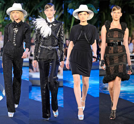 Chanel Resort 2009 &#8211; A Freezing Black And White Perspective Over Summer 2009