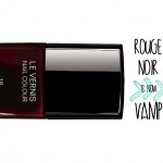 chanel rouge noir vamp nail polish transformation