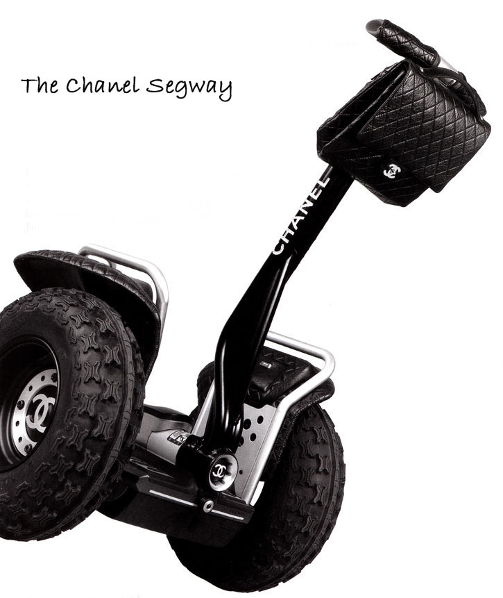 Segway Is Chic – The Chanel Segway!