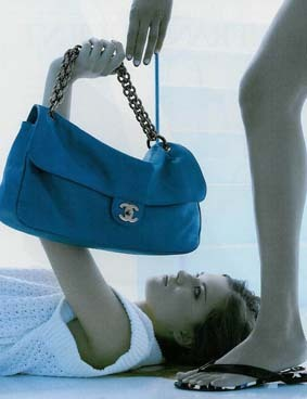Chanel Gives Jessica Alba the Baby BLUEs