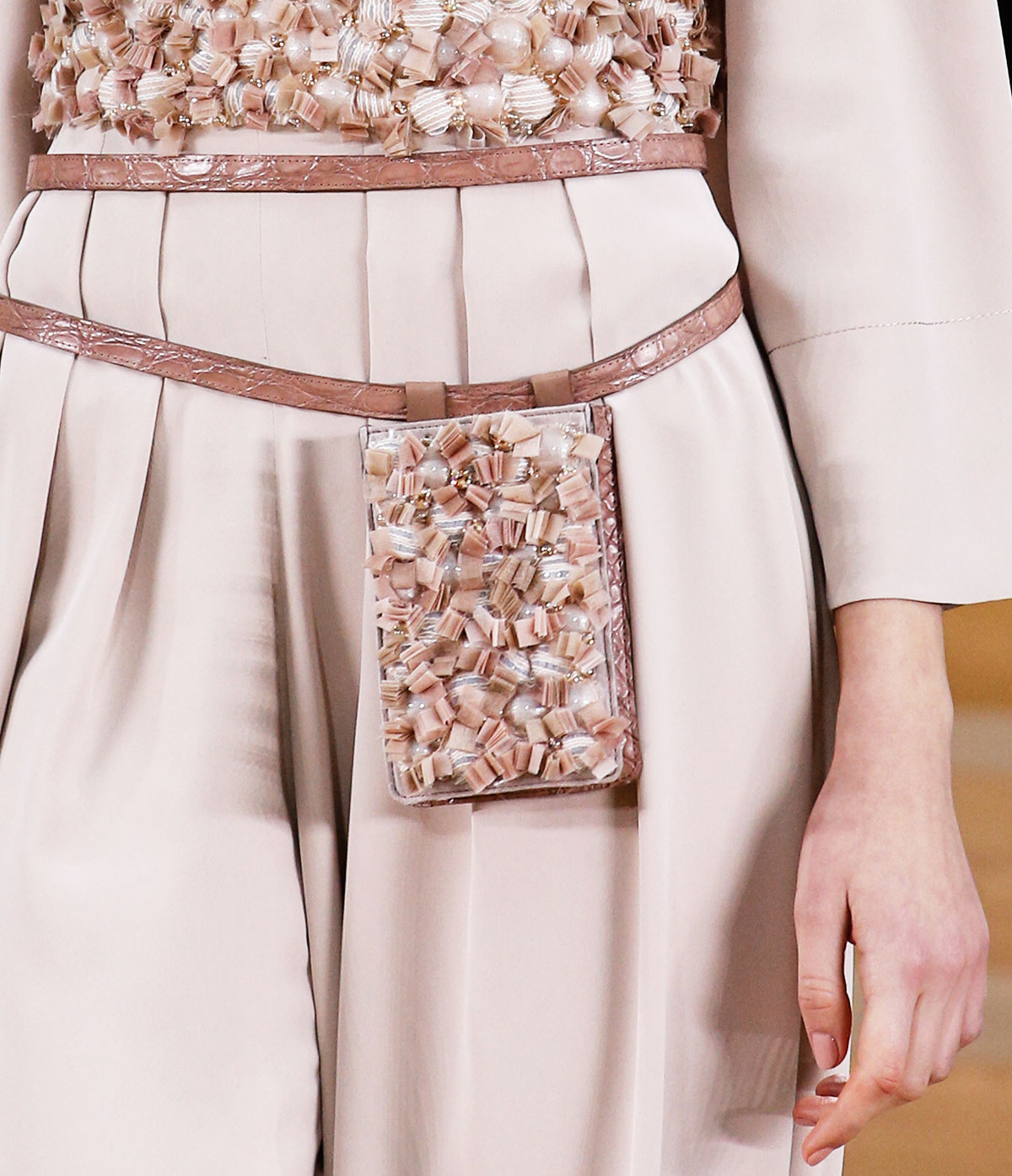 Chanel Spring 2016 Haute Couture fabric scraps