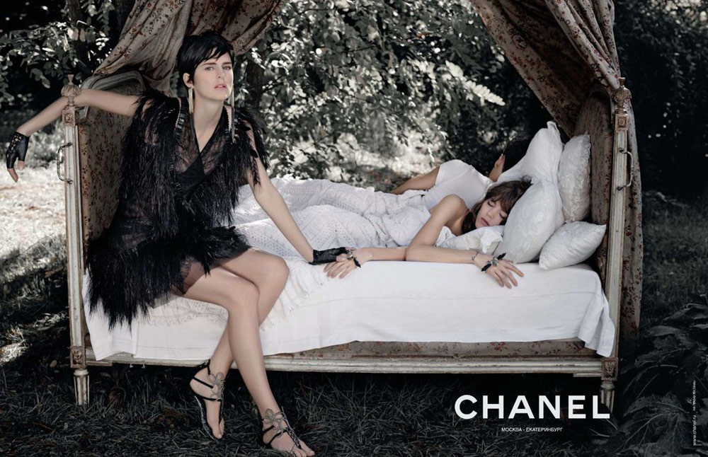 Chanel Spring Summer 2011 ad campaign 2