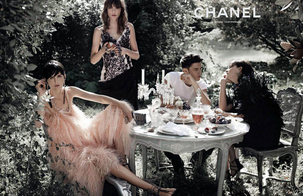 Chanel Spring Summer 2011 ad campaign 3