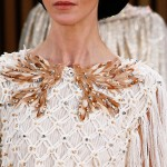 Chanel Summer 2016 Couture wood flowers rope beads