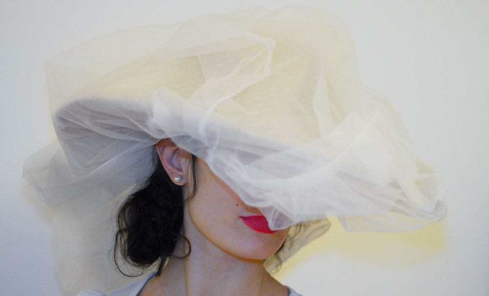 Chanel Wedding hat Couture Spring 2015