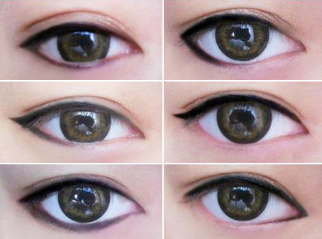 Change The Shape Of Your Eyes With Eyeliner!