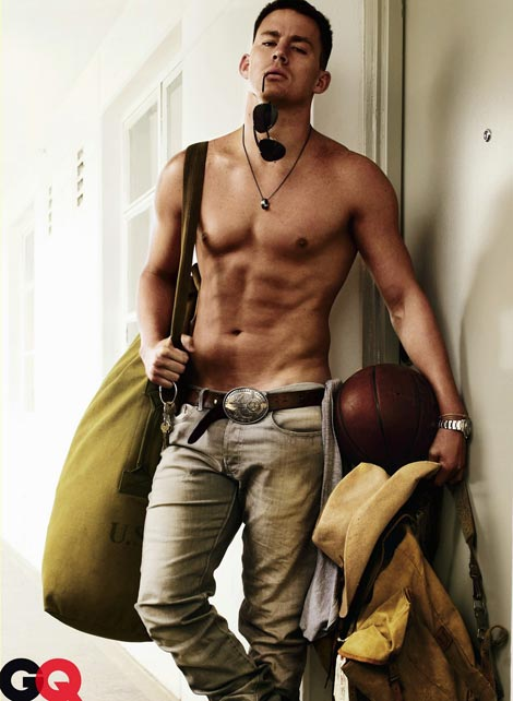 Channing Tatum GQ August 2009 3