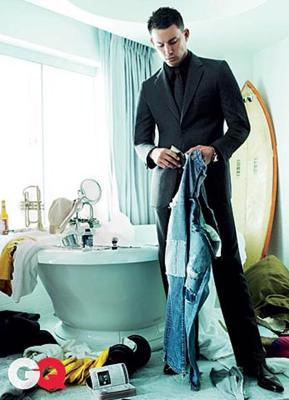 Channing Tatum GQ August 2009 5