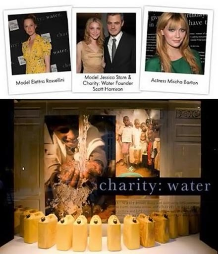 Charity water project supporters