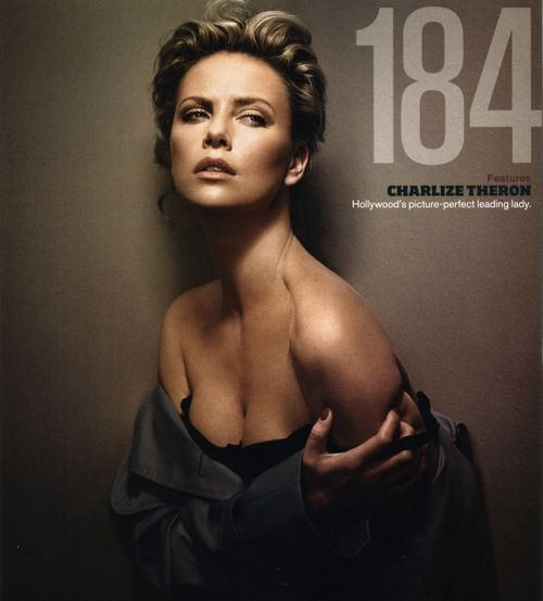Charlize Theron GQ Magazine July 2008