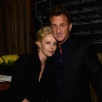 Charlize Theron Sean Penn together official event