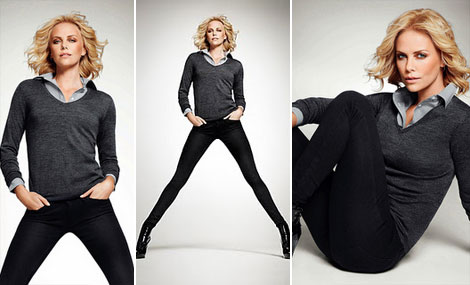 Charlize Theron Uniqlo ads