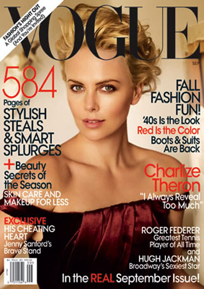 charlize theron for vogue us september 2009 stylefrizz