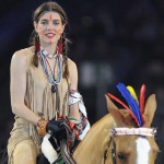 Charlotte Casiraghi Native American controversy Gucci Paris