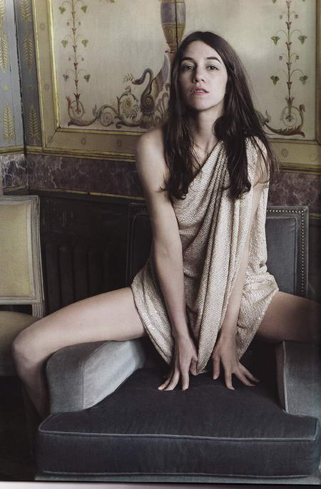 Charlotte Gainsbourg Very Elle Magazine