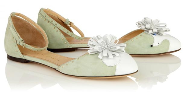 Charlotte Olympia flats Spring 2013
