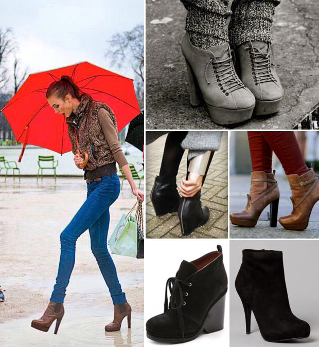 Chic and warm winter boots
