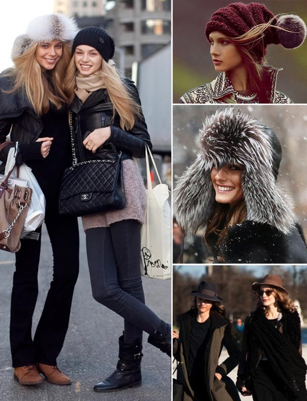 Chic and warm winter hats