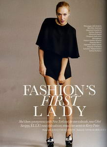 Ask Chloe Sevigny in Elle Magazine
