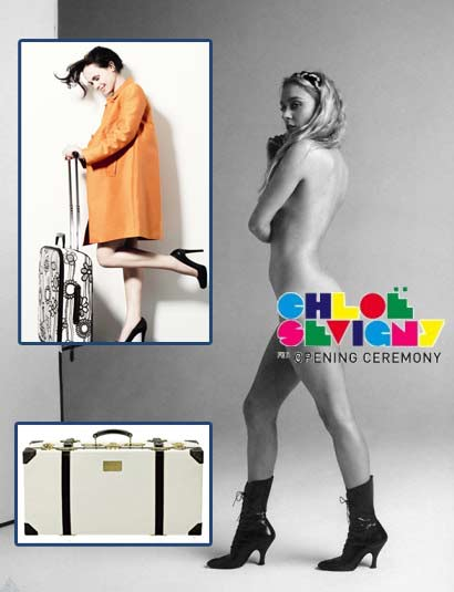 Chloe Sevigny for Samsonite