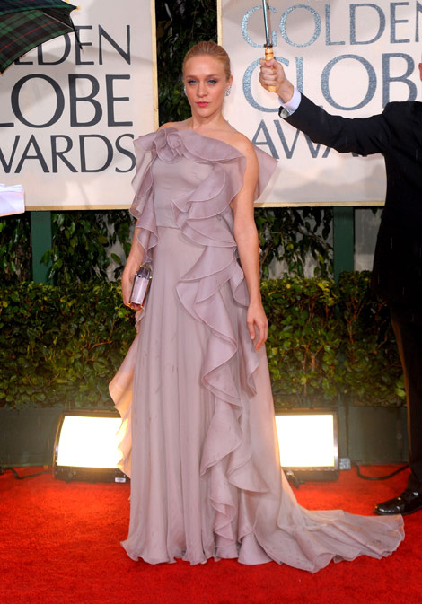 Chloe Sevigny Valentino Dress Golden Globes 2010