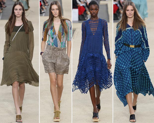 Chloe Spring Summer 2014 collection Paris