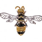 Chopard Animal World Collection Bee Brooch
