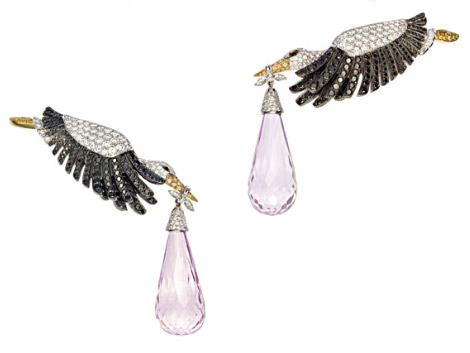Chopard Animal World Collection earrings