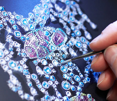 Chopard Animal World Collection making of clownfish necklace