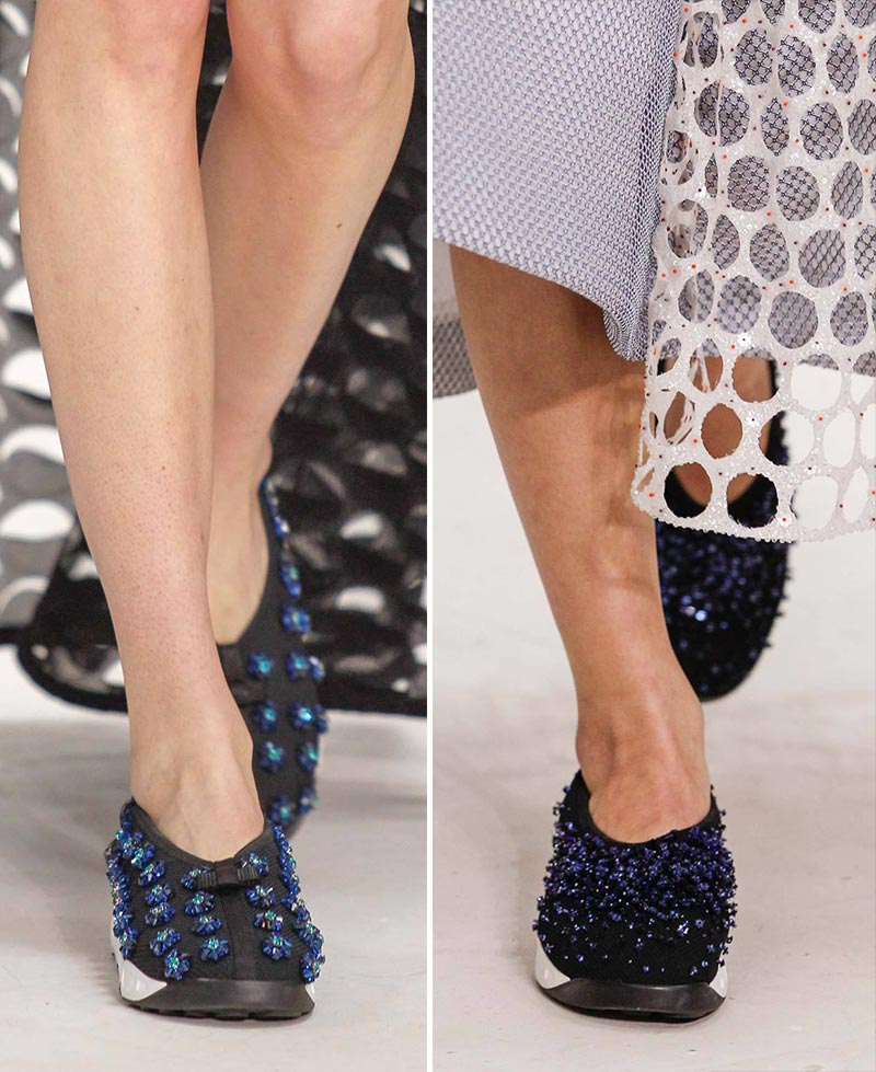 Christian Dior Couture Spring 2014 sneakers