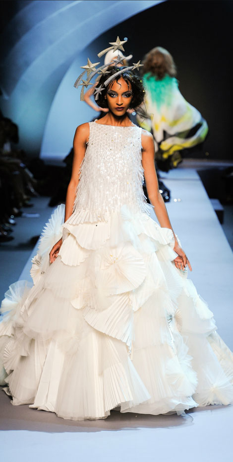 Christian Dior Haute Couture Fall 2011 Jourdan Dunn