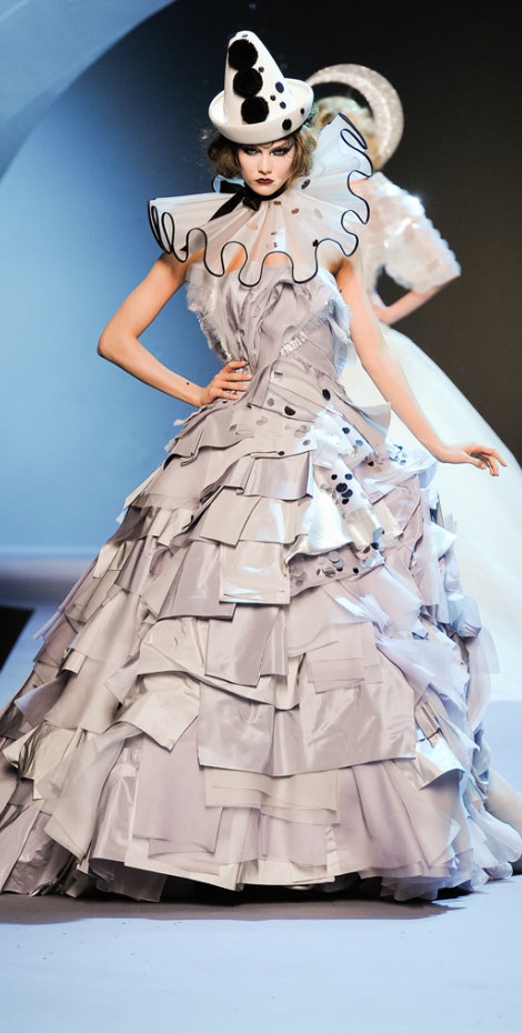 Christian Dior Haute Couture Fall 2011 Karlie Kloss