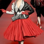 Christian Dior Haute Couture Spring Summer 2011 Angela Lindvall