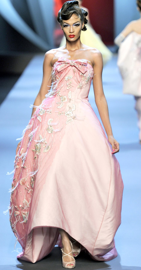 Christian Dior Haute Couture Spring Summer 2011 Joan Smalls