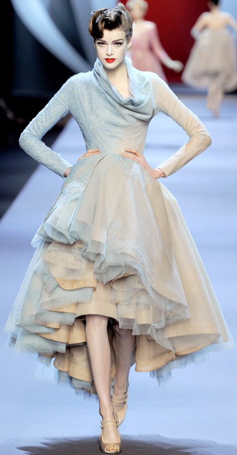 Christian Dior Haute Couture Spring Summer 2011 Julia Saner
