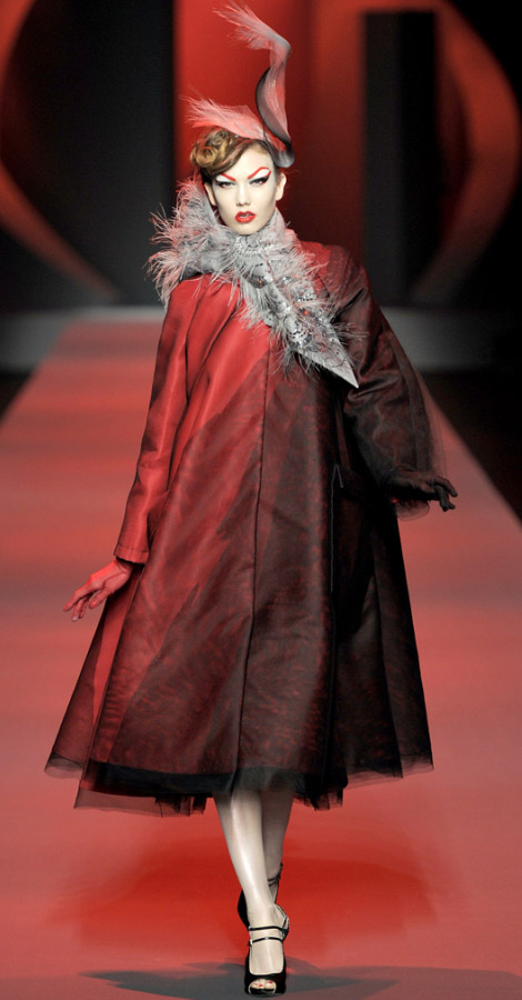 Christian Dior Haute Couture Spring Summer 2011 Karlie Kloss