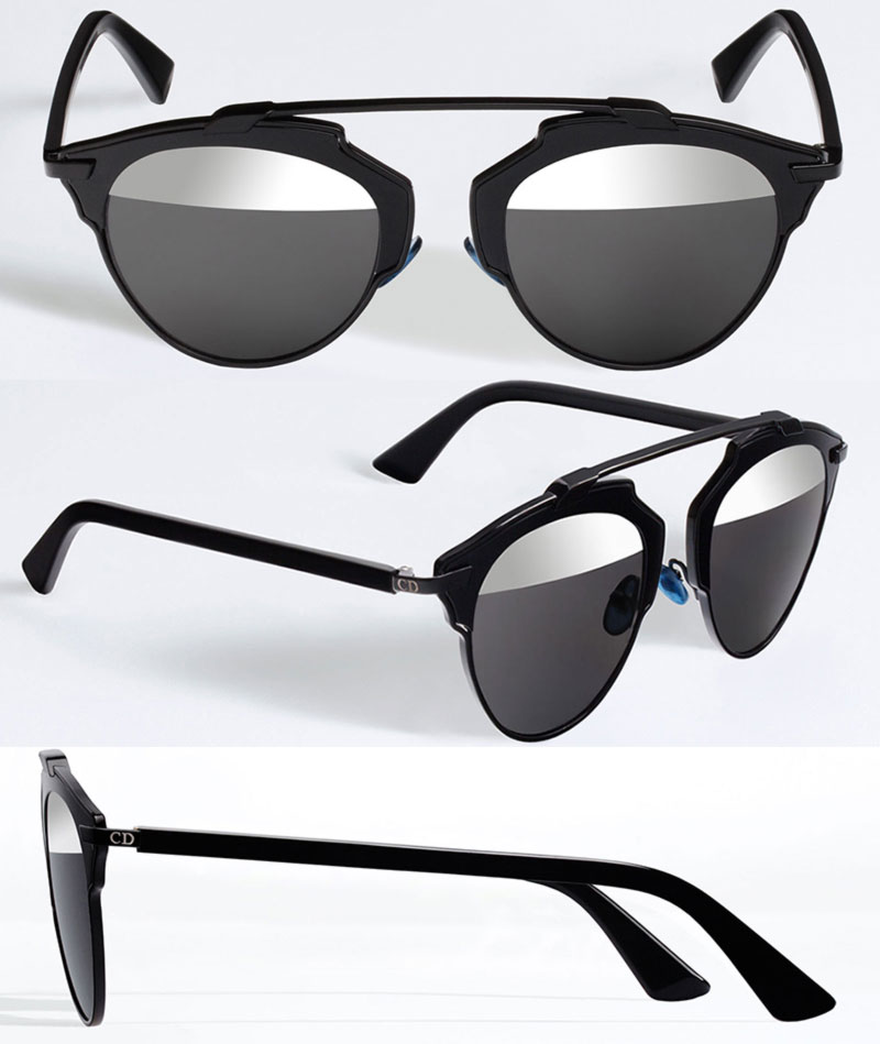 Christian Dior new sunglasses SoReal black