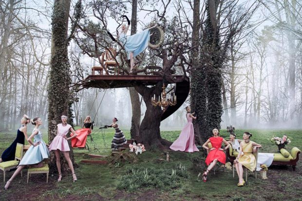 Christian Dior Secret Garden 2 Ad campaign