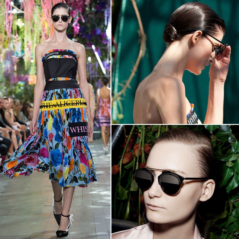 Christian Dior Spring 2014 collection accessories sunglasses