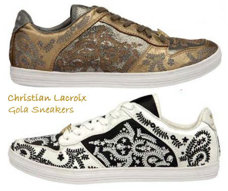 Christian Lacroix Makes Gola Sneakers